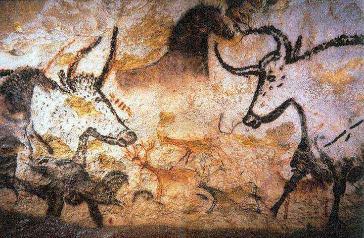 Uri raffigurati nelle pitture rupestri di Lascaux