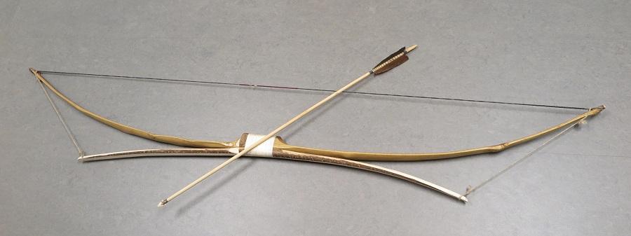 Ricostruzione moderna di un arco di Penobscot