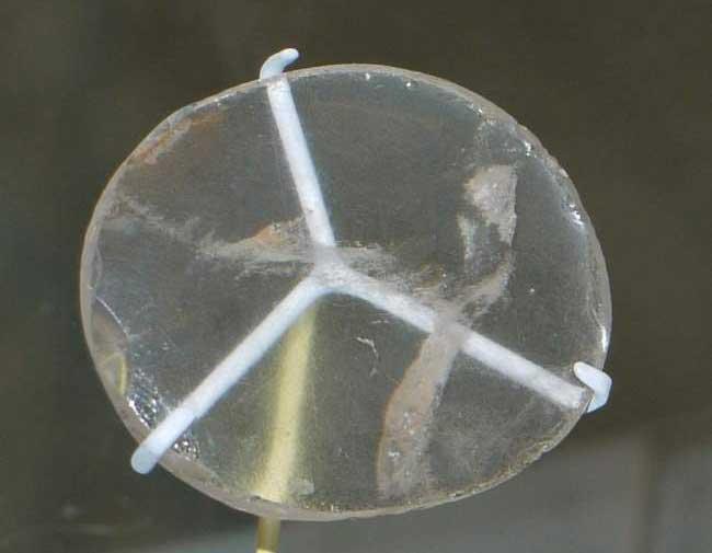 Dettaglio della lente di Nimrud