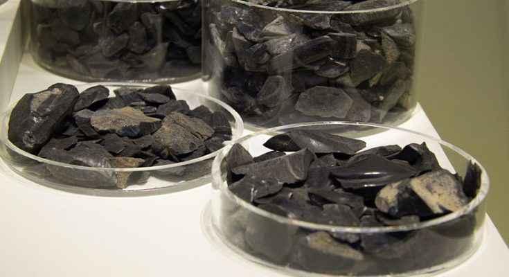 Frammenti di ossidiana provenienti da Creta