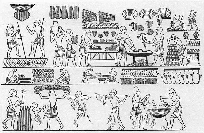pane nell'Antico Egitto