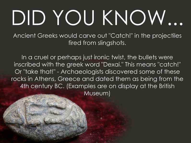 Proiettile di frombola di piombo greco