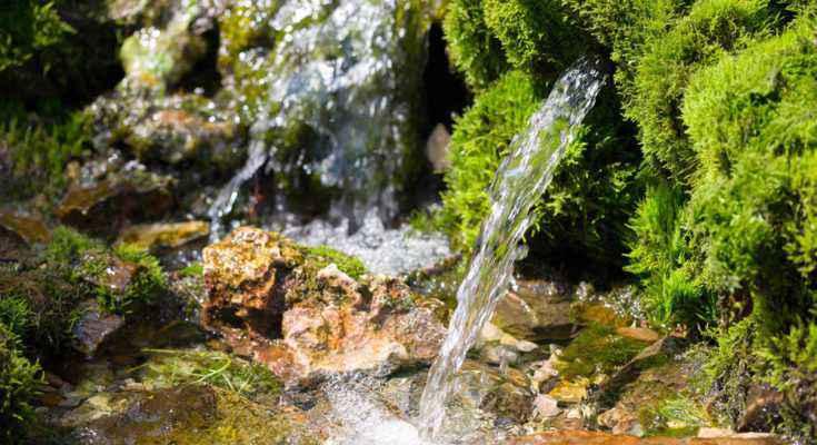 sorgente acqua
