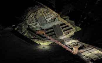 Tempio del Serpente Piumato e tunnel