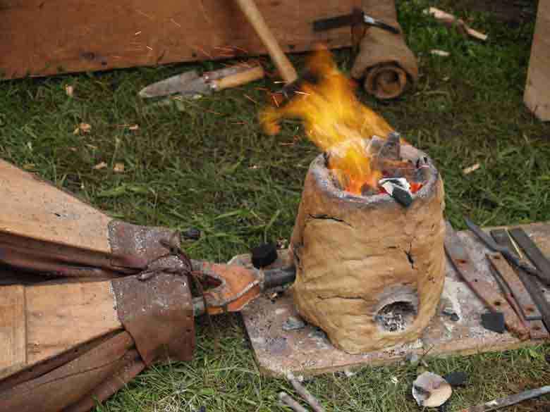 Siderurgia antica: i forni dell' Età del Ferro