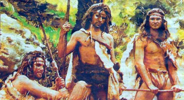 Guanches. Image credit: Gran Enciclopedia Virtual de las Islas Canarias.