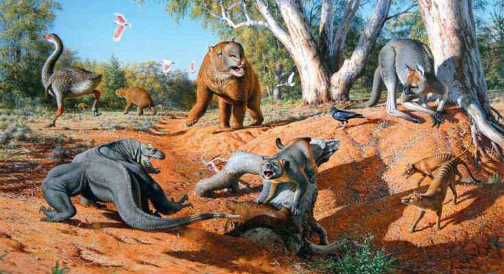 Megafauna del Pleistocene