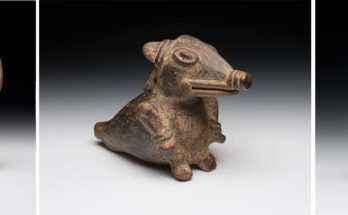 Ocarine d'argilla mesoamericane