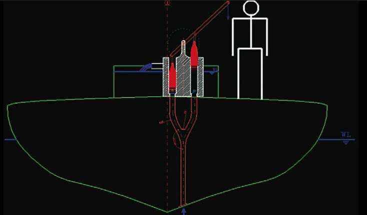Schema che mostra il possibile funzionamento della pompa