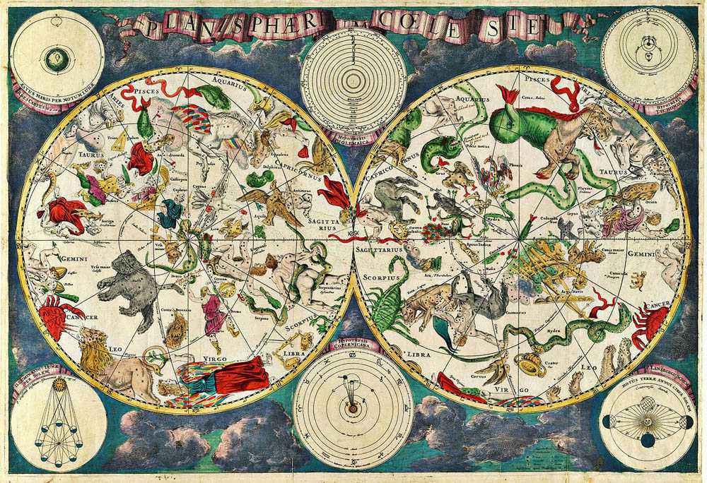Timeline dell'astronomia antica, dalla preistoria al 1700