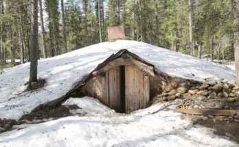 Casa a fossa preistorica