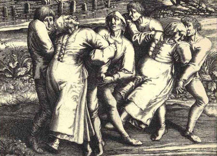 Piaga del Ballo di Strasburgo, 1518