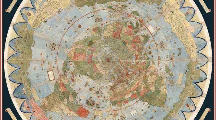 Planisfero Urbano Monte