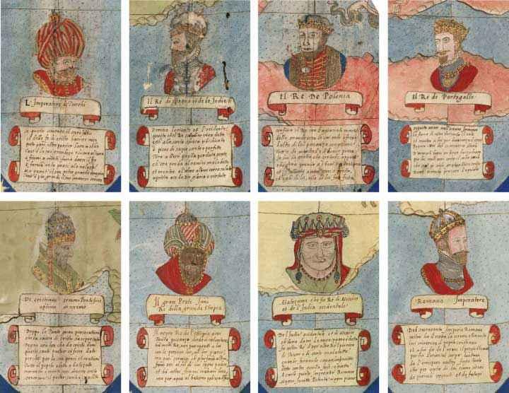 Ritratti di Re e Imperatori