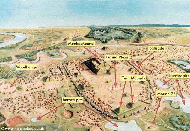 Ricostruzione di Cahokia