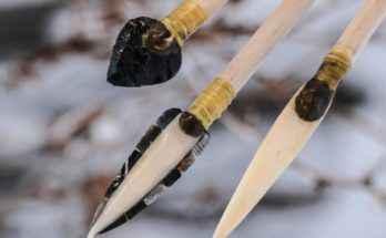 Punte di freccia create da Wood e dai suoi colleghi
