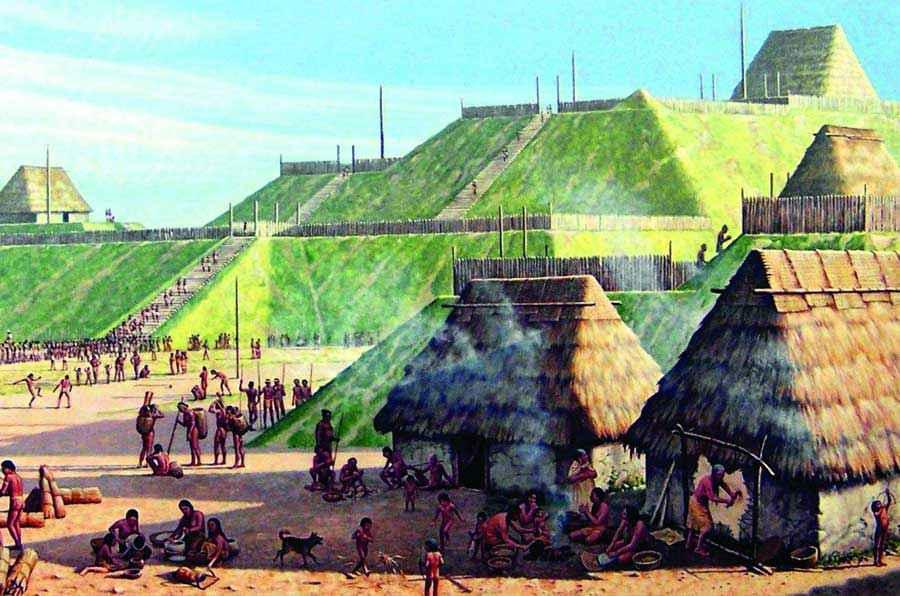 Cahokia, la metropoli dei nativi del Mississippi