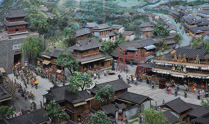 città più grandi dal X secolo: Hangzhou
