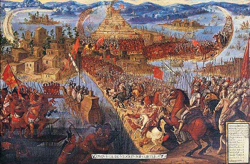 città più grandi dal X secolo: Tenochtitlan