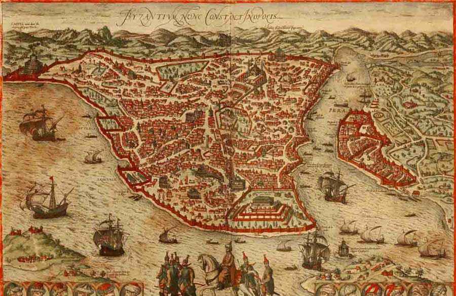 città più grandi dal X secolo: Costantinopoli
