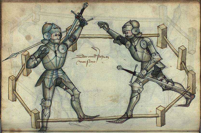 Il processo per combattimento o duello giudiziario