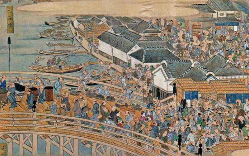 città più grandi dal X secolo: Edo