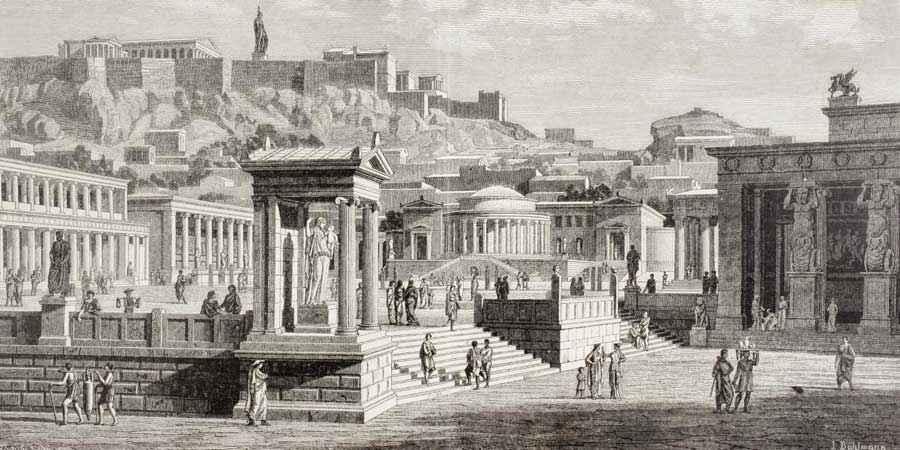 Le più grandi città dell' antichità: Atene