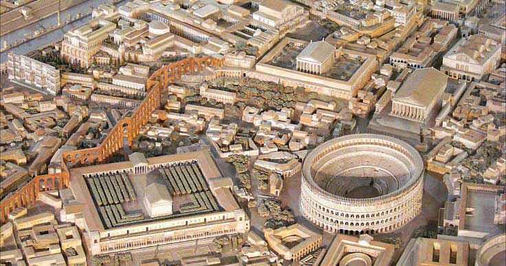 Le più grandi città dell' antichità: Roma