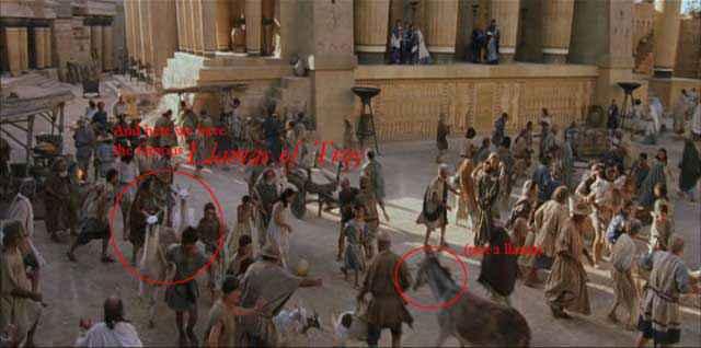 Film storicamente inaccurati - Troy