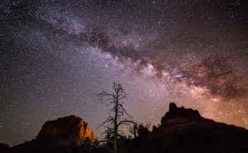 Antico cielo notturno: Via Lattea