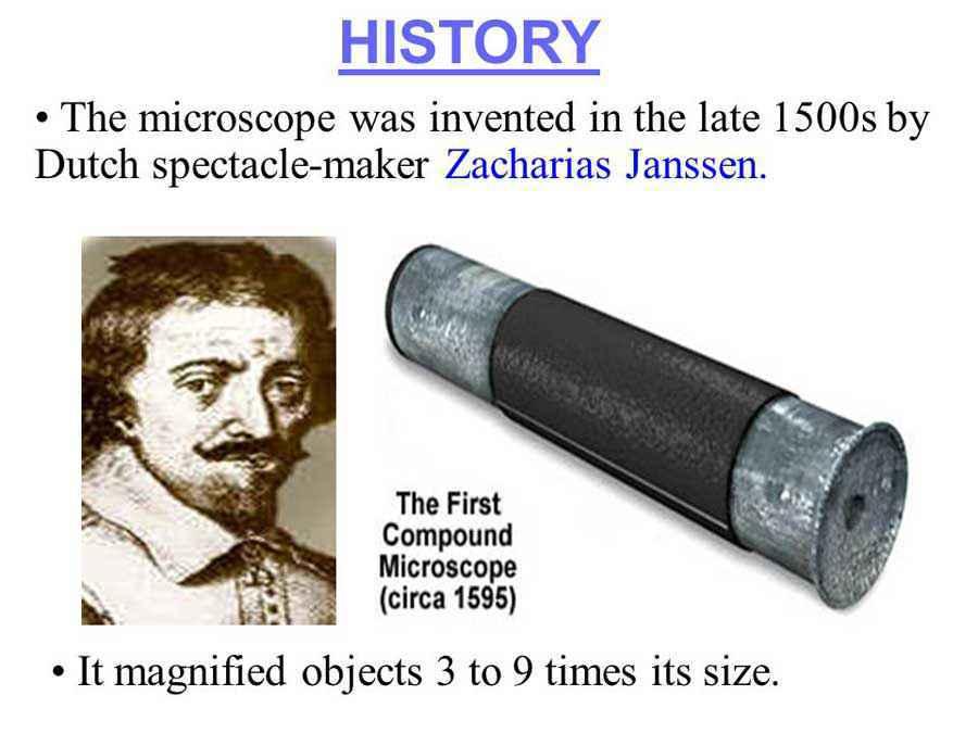 Microscopio di Janssen