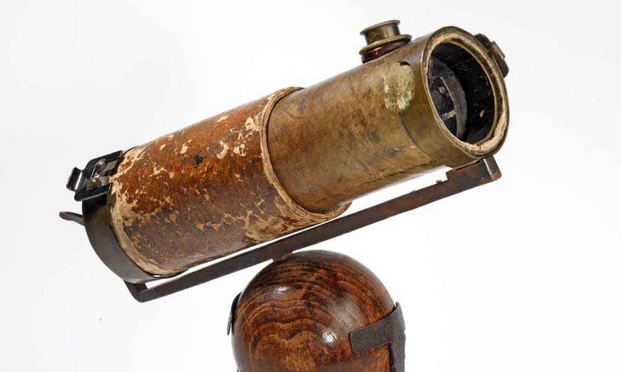 Il telescopio di Newton realizzato nel 1671