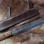 Riproduzione di un seax o scramasax vichingo