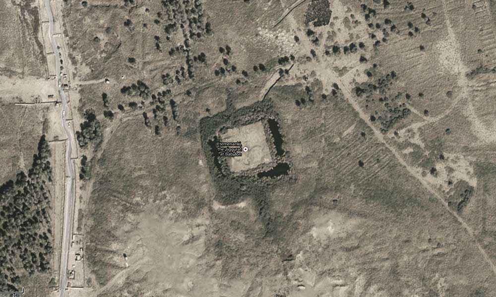 I resti archeologici di Etemenanki