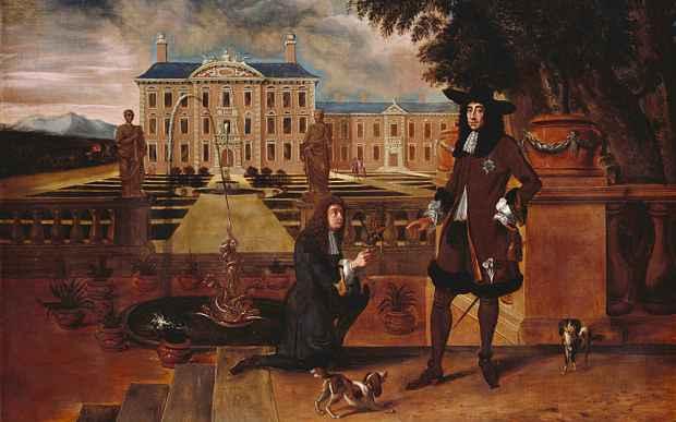 Carlo II si è fatto ritrarre in compagnia di un' ananas nel 1677 (Photo: Royal Collection Trust/Her Majesty Queen Elizabeth II)