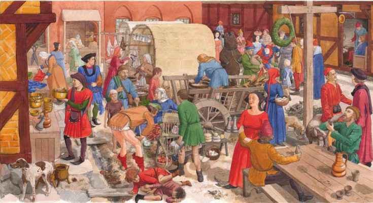 Costo della vita nel Medioevo