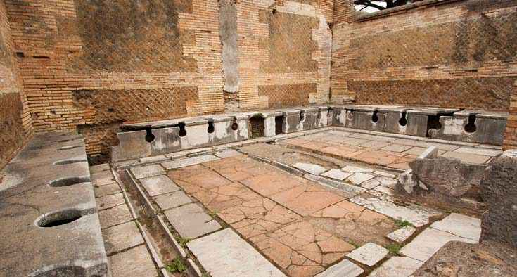 Timeline dell'igiene dai Babilonesi al 1700