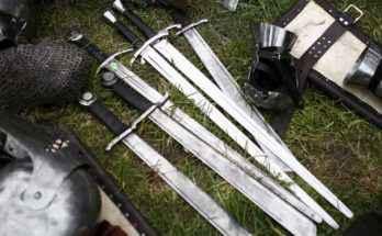 Quanto pesa una spada?