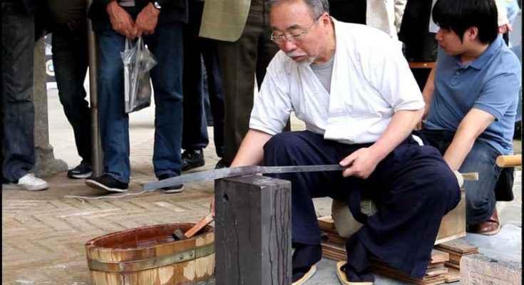 Katana: i segreti della spada giapponese