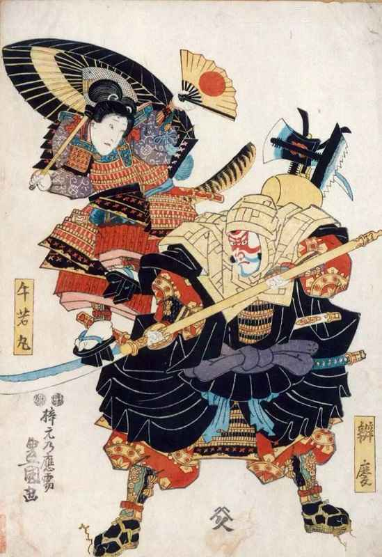 Monaco guerriero Benkei