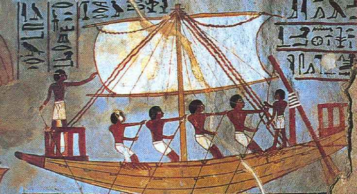 Trasporti e spostamenti nell'antico Egitto