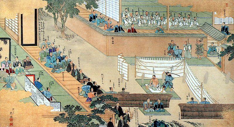 L'harakiri di Ōishi Kuranosuke Yoshio