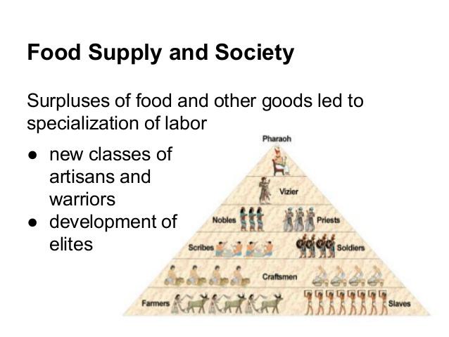 Agricoltura neolitica e stratificazione sociale