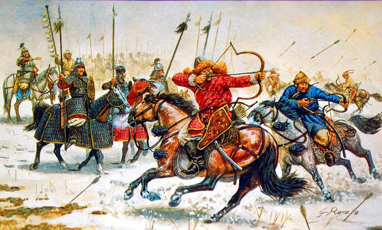 Arcieri mongoli