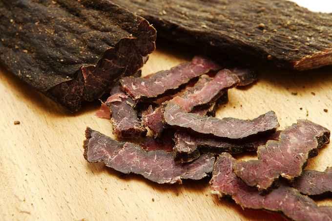Borts, carne essiccata dei nomadi mongoli