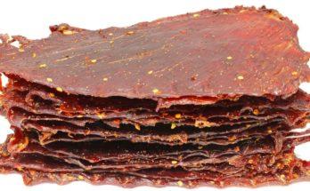 Carne secca jerky