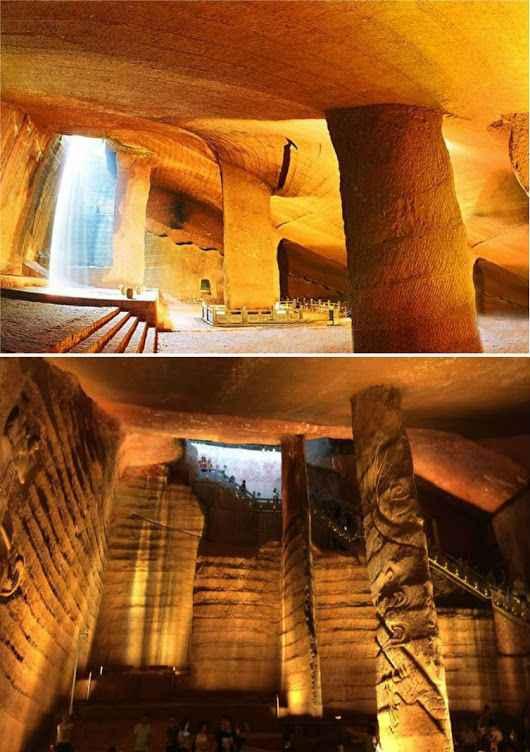 mistero delle caverne di Longyou