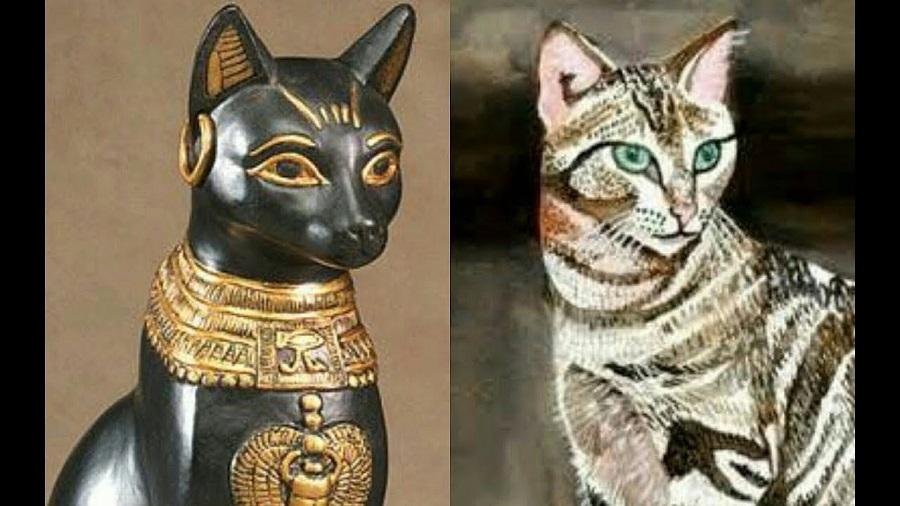 Il Gatto Nellantico Egitto Vitantica