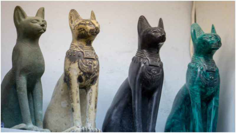 Gatti nell' antico Egitto
