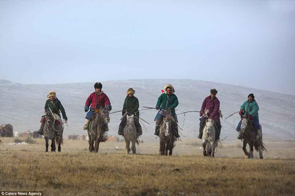 Mobilità esercito mongolo